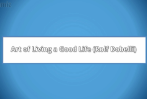Art of Living a Good Life by Dr Sangeetha Madhu