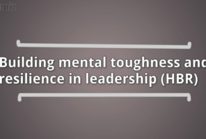 Building mental toughness and resilience in leadership dr sangeetha madhu