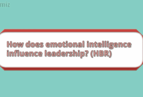 How does emotional Intelligence influence leadership by dr sangeetha madhu